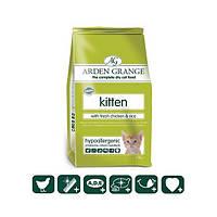 Arden Grange Корм для котят со свежей курицей и рисом