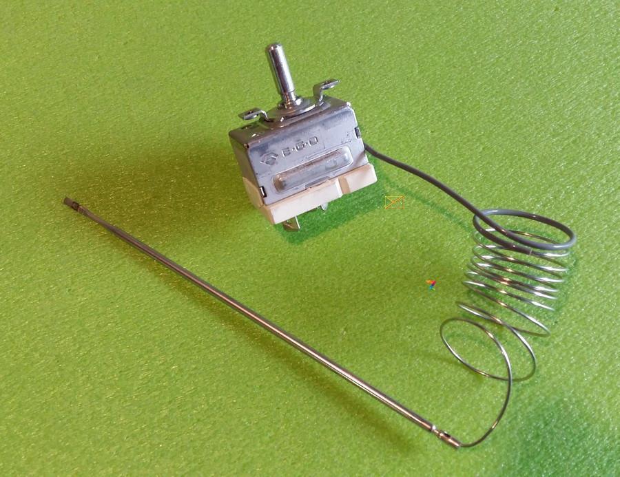 Капілярний Термостат EGO 55.17062.103 / Tmax=294°С / 20А / L=105см (довжина капіляра) для духовки Німеччина