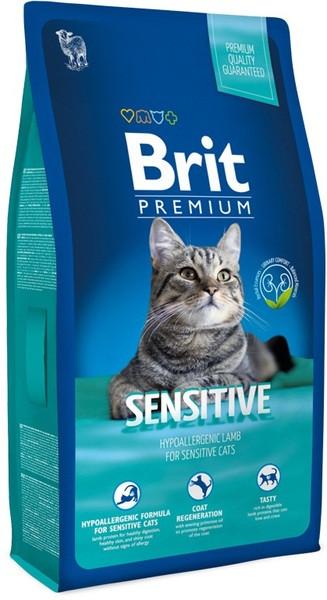 Brit Premium Cat Adult Sensitive для кошек с чувствительным пищеварением