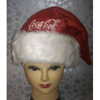 Новогодняя шапка Coca-Cola