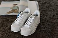 Стильные кроссовки Adidas Superstar White (унисекс)