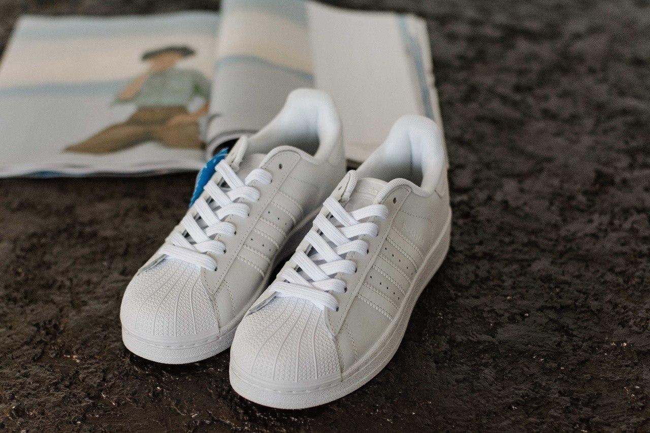 4e76c1ce2 Стильные кроссовки Adidas Superstar White (унисекс) - SUNVEL STORE в Киеве