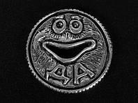 "Монетка для гадания ""Оракул"" посеребрённая"