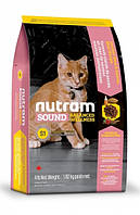 S1 Nutram Sound Balanced Wellness Natural Kitten Для котят