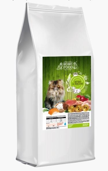 Home Food корм для котят ягненок с рисом