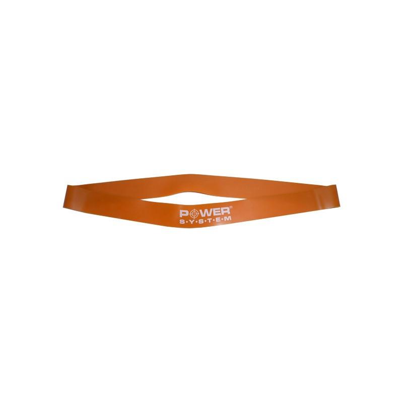 Замкнутая лента - эспандер Power System PS-4028 Excercise Band Light Orange