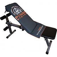 Фитнес-полотенце Power System Gym Bench Towel PS-7002 Grey (100*50), фото 1