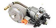 Газовый карбюратор для генераторов 1,6-3кВТ (механизм рычажный)