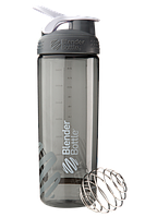 Спортивная бутылка-шейкер BlenderBottle SportMixer Sleek Promo 820ml Grey (ORIGINAL), фото 1