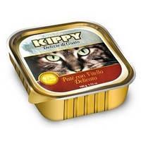 Киппи (KIPPY) - консерва для котов паштет из телятины