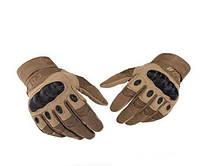 """Армейские тактические перчатки """"Oakley"""" полнопалые. Бежевые"""