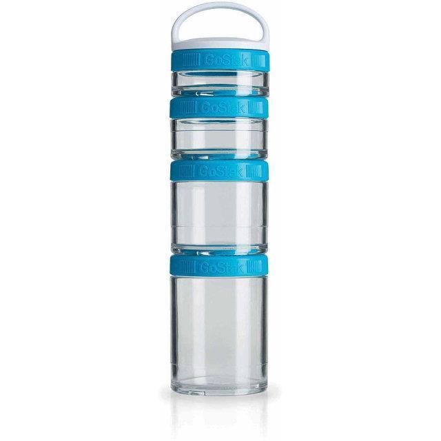 Контейнер спортивный BlenderBottle GoStak Starter 4 Pak Aqua (ORIGINAL)