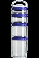 Контейнер спортивный BlenderBottle GoStak Starter 4 Pak Purple (ORIGINAL)