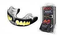 Капа OPRO Power-Fit Bling-Teeth Series Black/White (art.002269002), фото 1