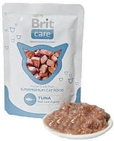 Brit Care Cat pouch тунец
