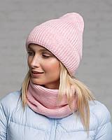 Комплект шапка+снуд  1824