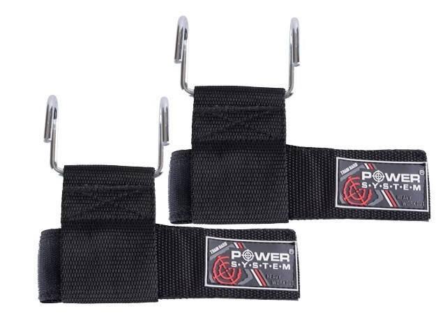 Металлические крюки для турника и тяги Power System Heavy Lifting Hooks PS-4040