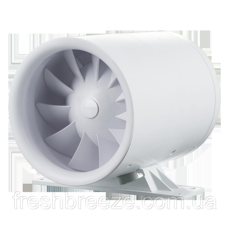 Бесшумный двухскоростной вентилятор с кронштейном Vents Квайтлайн-к 125 Дуо