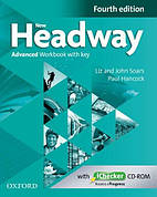 New Headway Fourth Edition Advanced Workbook with key and iChecker CD-ROM ISBN: 9780194713542