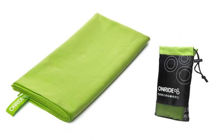 Рушник з мікрофібри ONRIDE Wipe 120х60 см зелений, фото 2