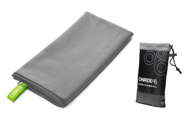 Рушник з мікрофібри ONRIDE Wipe 120х60 см сірий, фото 2