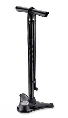 Насос підлоговий GIYO GF-73 сталевий високий тиск, фото 2