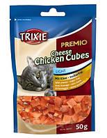 Лакомство для котов Кубики курица/сыр