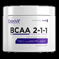 Аминокислоты OstroVit - BCAA 2-1-1 (200 грамм)