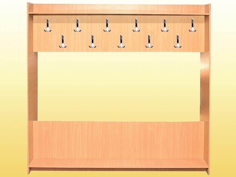 Вешалка 1-сторонняя на 11 крючков (0611)