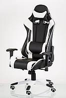 Геймерское кресло ExtremeRace black/white, TM Technostyle-Pro