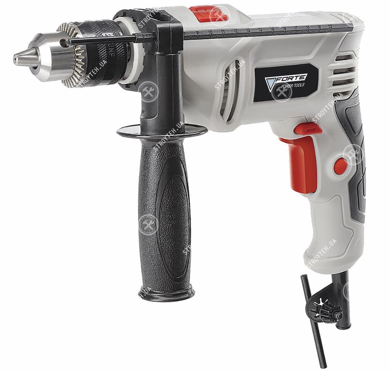 Электродрель ударная Forte ID 650 VR