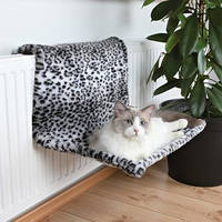 Гамак на батарею для крупной кошки Снежный леопард