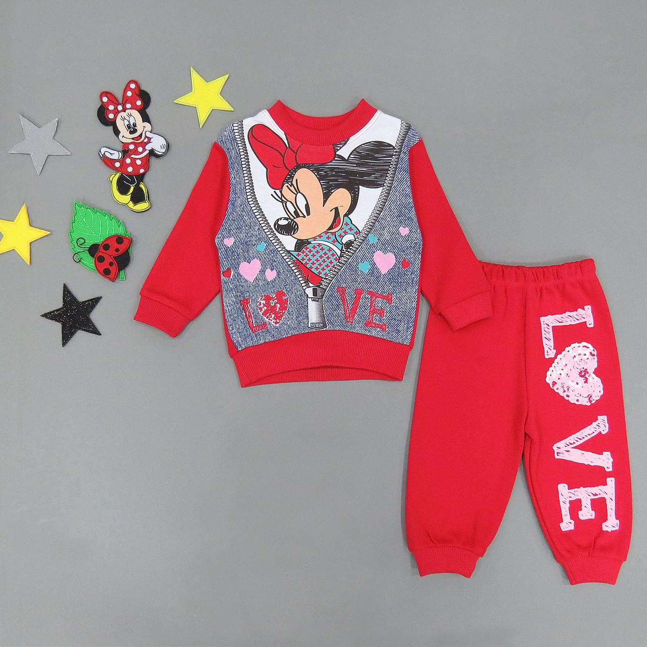 Костюм Minnie Mouse для девочки. 68, 74 см