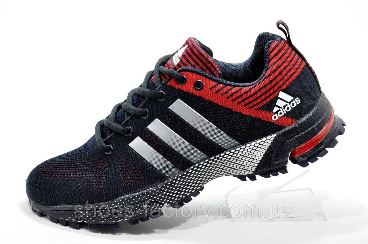 Мужские кроссовки в стиле Adidas Marathon TR26, Red\Dark blue
