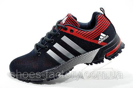 Мужские кроссовки в стиле Adidas Marathon TR26, Red\Dark blue, фото 2