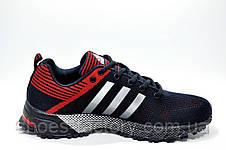 Мужские кроссовки в стиле Adidas Marathon TR26, Red\Dark blue, фото 3