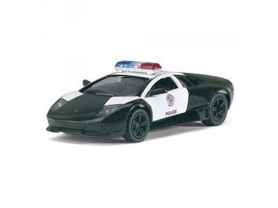 Автомодель Металл. 1:36 Lamborghini Murcielgo LP-640-4 (Police) KT5317WP Kinsmar