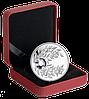 """Монета с кристаллом """"Александрит"""", серебро, Королевский монетный двор Канады"""