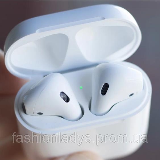 Беспроводные наушники I7s TWS Bluetooth c кейсом аналог, реплика AirPod Apple Белый