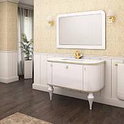"""Комплект мебели в ванную комнату """"Амелия"""" (тумба+раковина + зеркало + пенал)"""