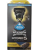 Станок для бритья Wilkinson Hydro 5 Sense ENERGIZE - 1+1 катридж
