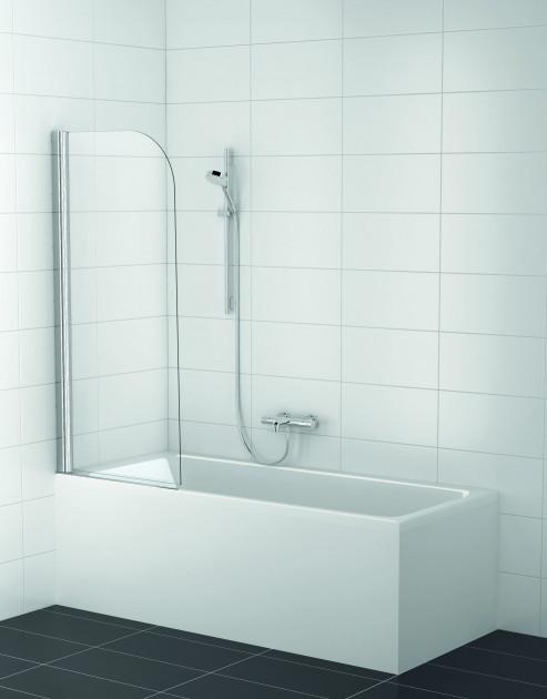 Шторка для ванны Koller Pool QP93 NEW Clear chrome