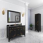 "Комплект мебели в ванную комнату ""Жаклин"" (тумба+раковина+столешница + зеркало + пенал)"