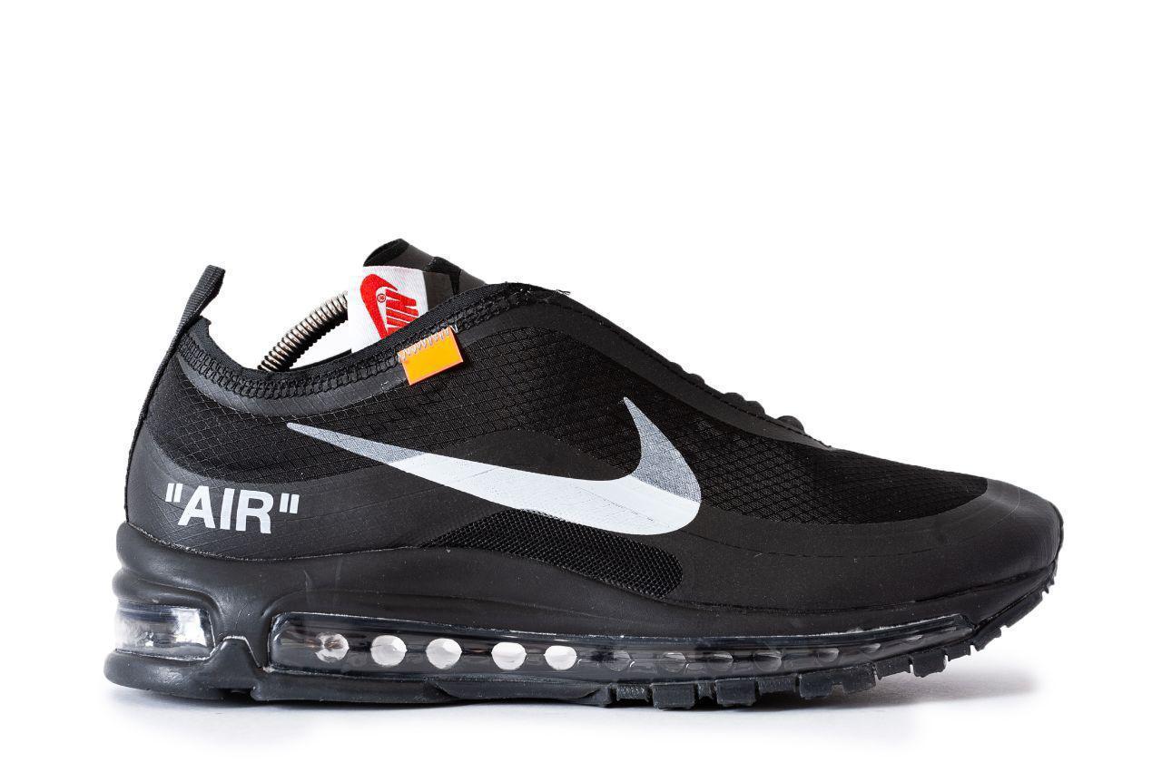 ee07ddce Мужские кроссовки Nike Air Max 90 x Off White (Реплика) 0560 - Интернет-