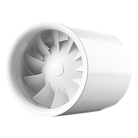 Двухскоростной бесшумный вентилятор с таймером Vents Квайтлайн Т Дуо 125