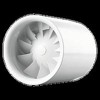 Бесшумный осевой канальный вентилятор с таймером Vents Квайтлайн Т 125
