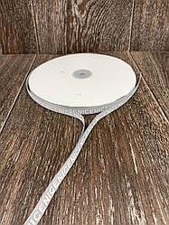Лента респ с надписью NICE серая 100 ярд, ширина 1 см