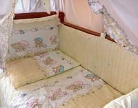 Детское постельное белье ТМ Bepino, постельные комплекты из 8 предметов!