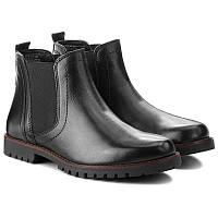 Брендовые кожаные ботинки челси Caprice, Германия-Оригинал