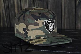Снепбек Raiders камуфляжного цвета (люкс копия)